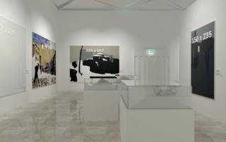 Rendering Mostra Luca Vernizzi - triennale Milano