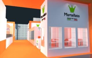 Rendering stand Martellato - Sigep