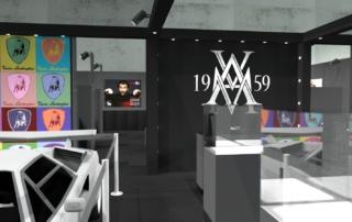 Progetto stand AVM 1959 - Mido