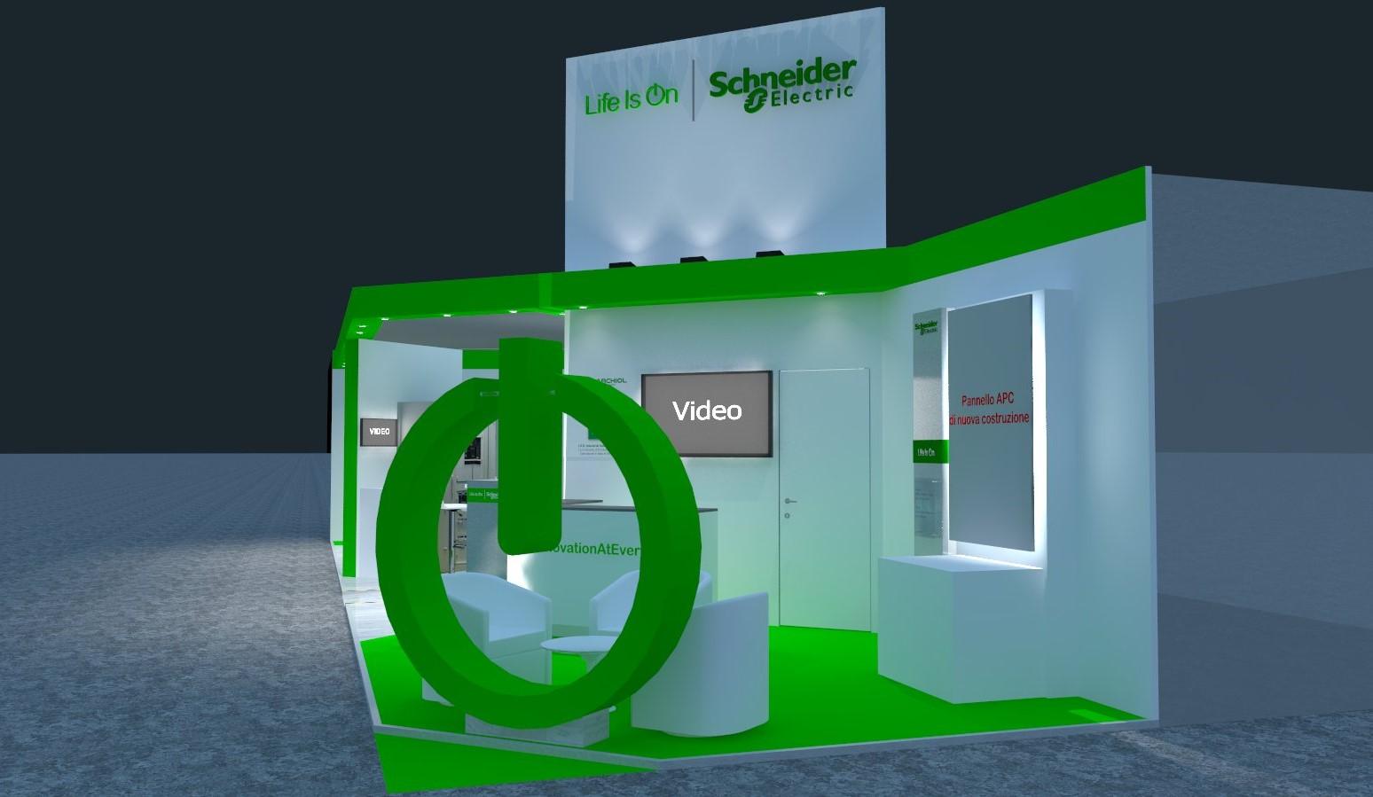 Progetto Schneider Electric Elettroexpo