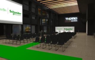 Progetto Schneider Electric Theatro Schuco