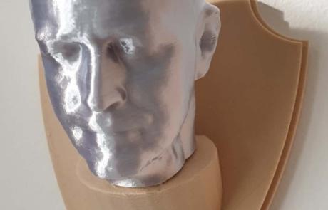 3D for you - Testa a muro