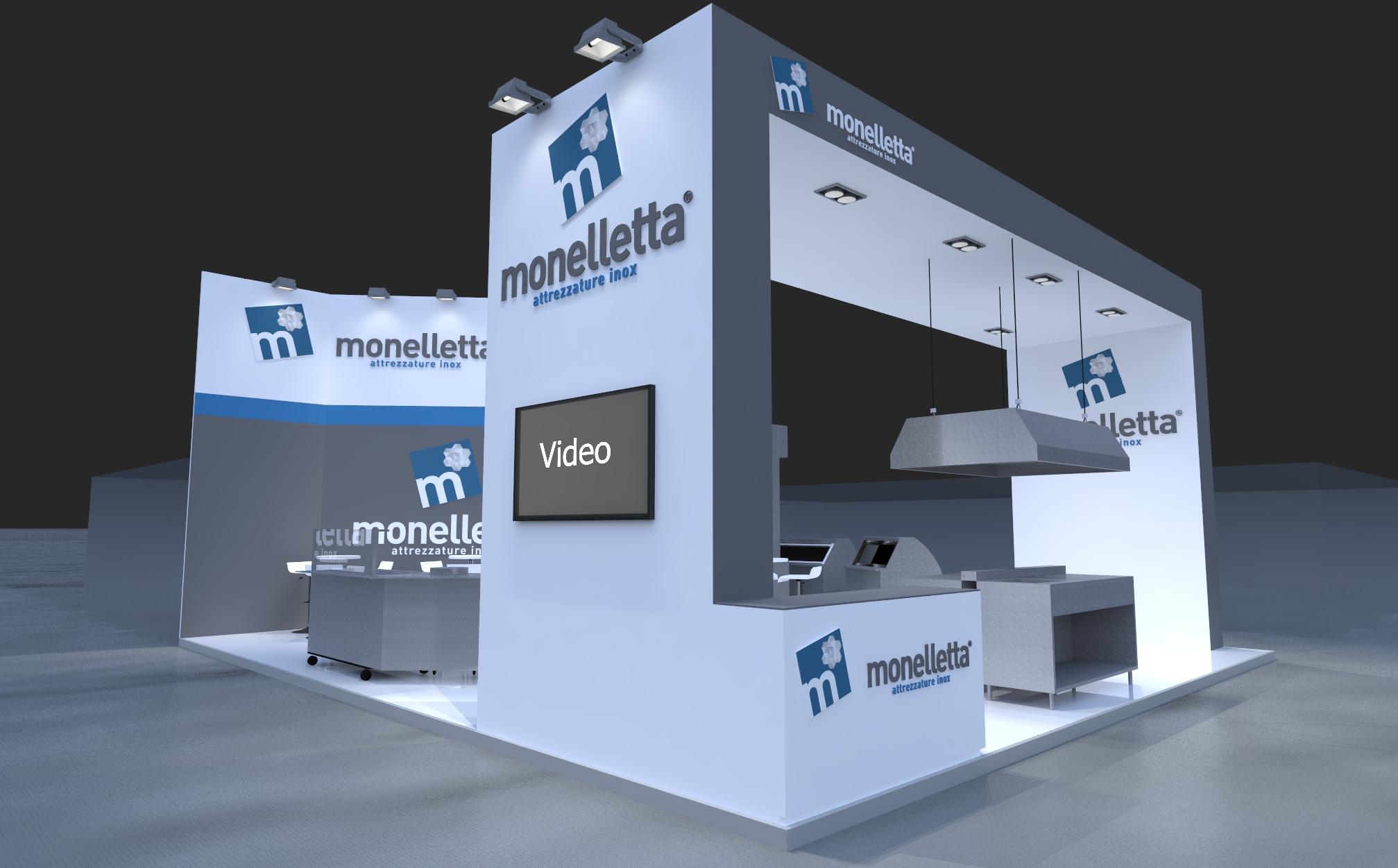 Progetto stand Monelletta - Host