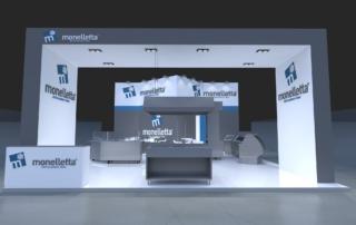 Progetto stand Monelletta - Host 2019