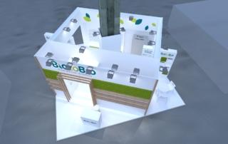 Progetto stand BiotoBio - Sana 2020