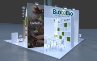 Progetto stand BiotoBio - Sana