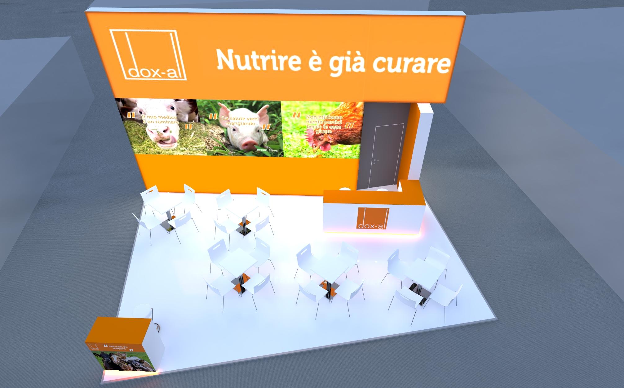 Progetto stand Dox-al - Fieragricola Verona